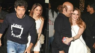 Suzanne Khan DRUNK At At Ex Husband Hrithik Roshan Birthday Party