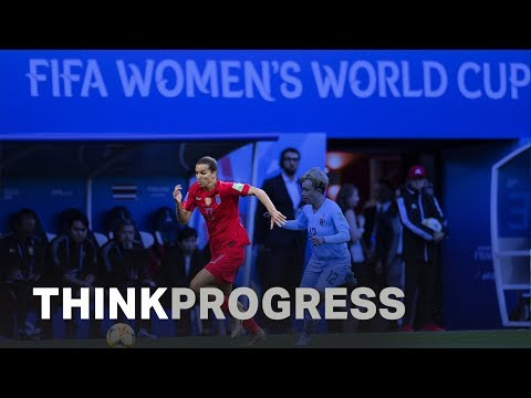Teams fight for equity at the 2019 Women's World Cup