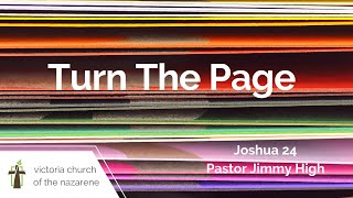 Turn The Page | Pastor Jimmy High | Feb. 28, 2021 | Victoria Church of the Nazarene