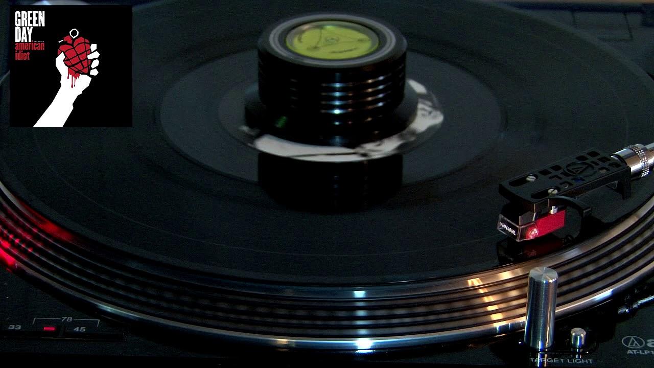 Green day-American idiot vinyl rip FLAC