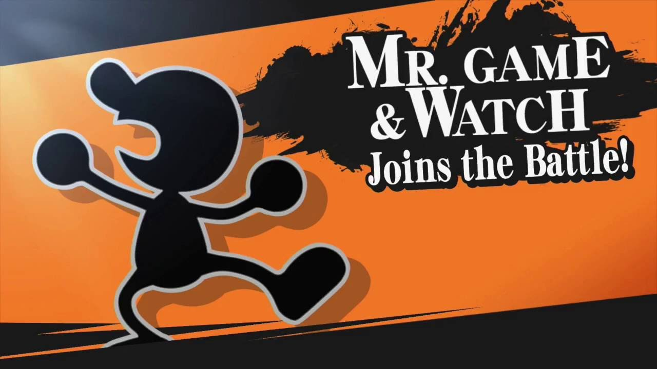 Mr Game And Watch Ssb4 Crazy Kills Montage Youtube