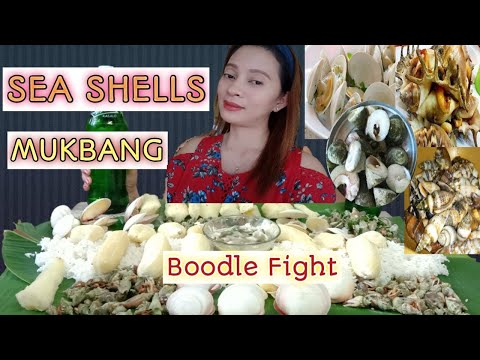 SEA SHELLS MUKBANG With Family L By Verlyn Lauron
