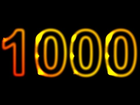 1000 Seconds Countdown Timer no Music with Alarm ⏰🔔