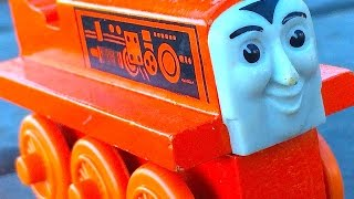 Thomas & Friends Terence Wooden Railway Toy Train Railway Review By Mattel Fisher Price