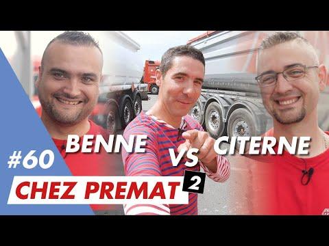 """Benne VS Citerne : Mon 1er """"match Job Test"""" Chez Transports Prémat X Jeviensbosserchezvous©"""