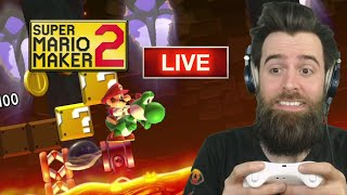 Super Mario Maker 2 LIVE STREAM!!!