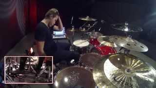 Harley deWinter Drum Cover - Turn Me On - David Guetta Feat. Nicki Minaj