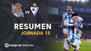 Resumen de Real Sociedad vs SD Eibar (4-1)
