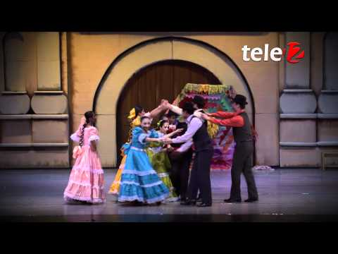 Ballet Moderno y Folklórico de Guatemala - Ferrocarril de Los Altos