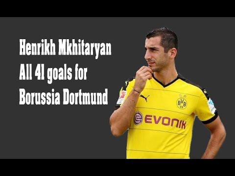 Henrikh Mkhitaryan - All goals for Borussia Dortmund 1080p HD