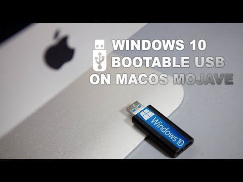 How To Create A Windows 10 Installer USB Drive From  Mac OS Mojave