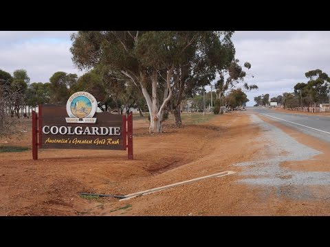 Cycle Touring Western Australia betveen Perth  and  Kalgoorlie on the Great Eastern Highway
