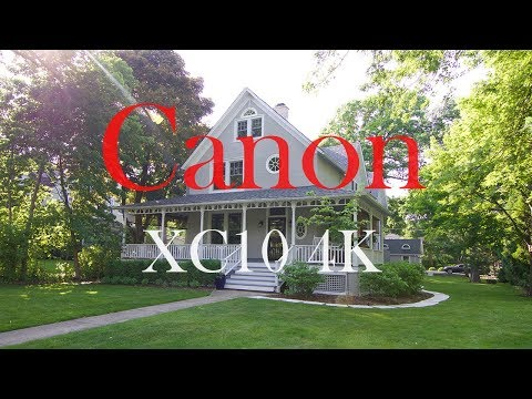 Canon XC10 4K  Zhiyun Crane 2