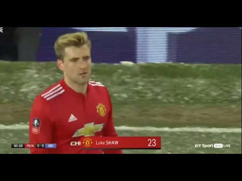 Why Jose Mourinho substituted Luke Shaw at half-time against Brighton