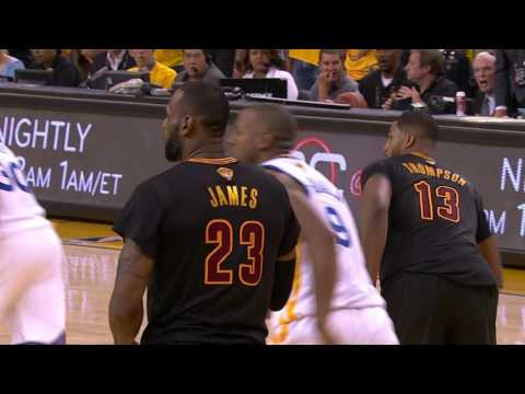 LeBron James' Historic Block on Andre Iguodala From All Angles
