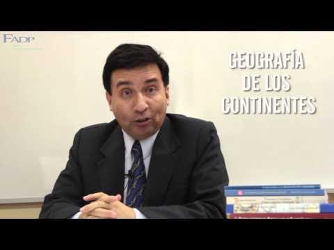 Geografía del Perú y el Mundo: Mg. Manuel Ballesteros Peralta [Curso de Preparación 2016]