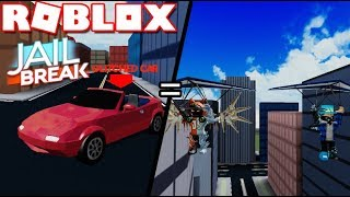 THIS NEW JAILBREAK FLYING GLITCH IS OP!! / Roblox Jailbreak