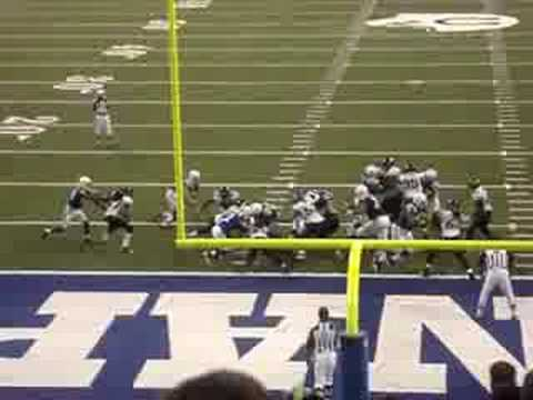 2008 Jags vs Colts Joseph Addai Touchdown