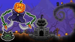 The Pumpking's Crypt | Timelapse | Terraria
