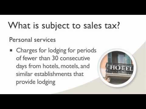 Sales tax in Washington State - YouTube