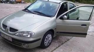 Renault megane 1.4 16V 2002 - minusy samochodu