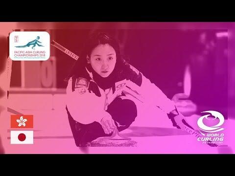 Hong Kong v Japan - Women - Round Robin - Pacific-Asia Curling Championships 2018