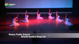 "Dance Performance: ""Bharat Anokha Raag Hai"" by Students of Rotary Public School, Gurgaon, Haryana"