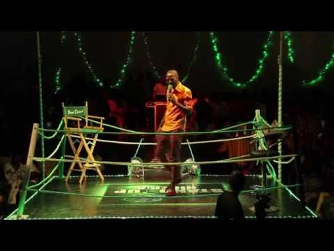 Video (stand-up): MC Danny B With a Funny Stammerer Joke at Stand Up Nigeria