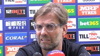 West Brom 2-2 Liverpool - Jurgen Klopp Full Post Match Press Conference - Premier League