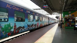 All New LOOK of SHATABDI EXPRESS! RARE AND ONE OF IT'S KIND|| Coimbatore Shatabdi||Indian Railways!