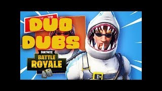 CHOMP SR SKIN DUO WIN- Fortnite Battle Royale Gameplay (PS4 PRO)
