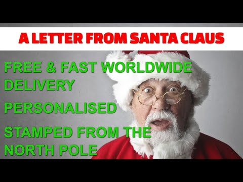 A letter from Santa Claus thumbnail