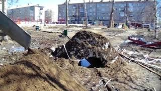 [Николаевск-день за днём] БЛАГОустройство,ремонт зимней брусчатки ч.1