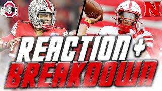 Nebraska vs Ohio State BREAKDOWN   Martinez vs McCaffrey, Defensive IMPROVEMENT?   Husker Football