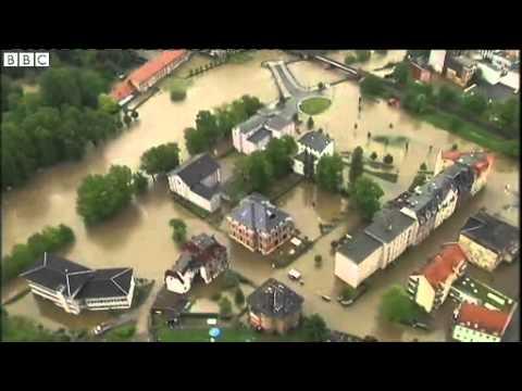 BBC News   Flood waters from Czech dams bear down on Prague
