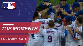 Top 10 Moments around MLB: September 13, 2018