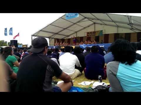 St Pauls College Polyfest 2014 - Samoan Group