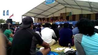 St Pauls College Polyfest 2014 - Samoan Group
