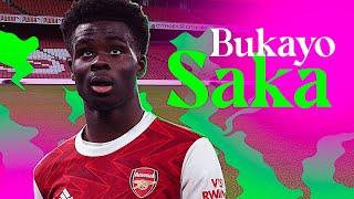 Bukayo Saka is The Future of Arsenal • Goals & Skills 2021