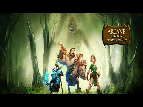 Arcane Legends - Ursoth 2015! - Farming The Platinum Tier Level