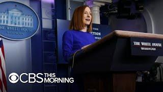 White House press secretary Jen Psaki on Biden administration's first day in office