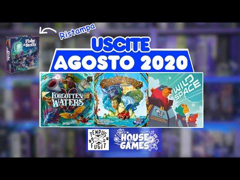 I Giochi da Tavolo in USCITA ad AGOSTO 2020