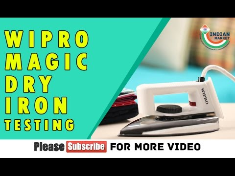 Wipro Dry Magic Iron Unboxing & Quick Testing in Hindi