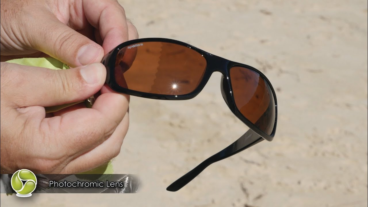 6c98daa9efd Spotters Polarised Photochromic Crown Glass Sunglass lenses and how they  work