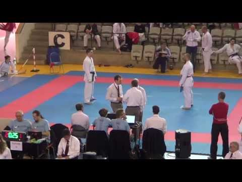 2015 JKA European Championship - Senior Kumite Eliminations
