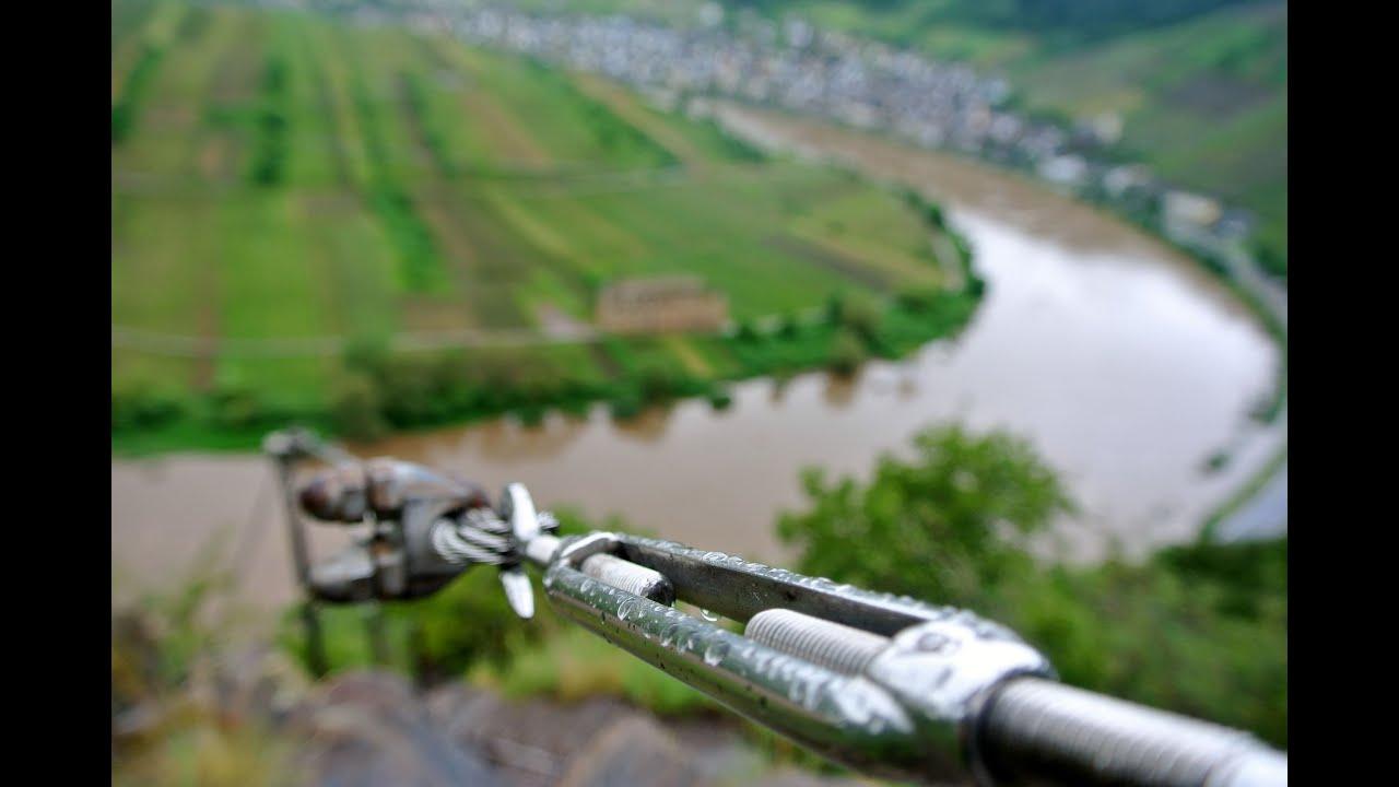Calmont Klettersteig Unfälle : Calmont klettersteig an der mosel youtube