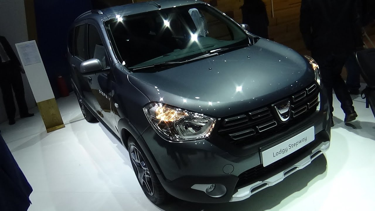 2018 Dacia Lodgy Stepway Celebration Tce 115 Exterior And Interior Iaa Frankfurt 2017