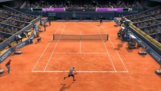 Virtua Tennis 4 | PC Gameplay - Roddick vs Monfils