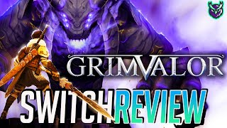 Grimvalor Nintendo Switch Review - Hack n Slash Metroidvania (Video Game Video Review)