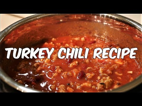 Healthy Turkey Chili Recipe Meal Prep
